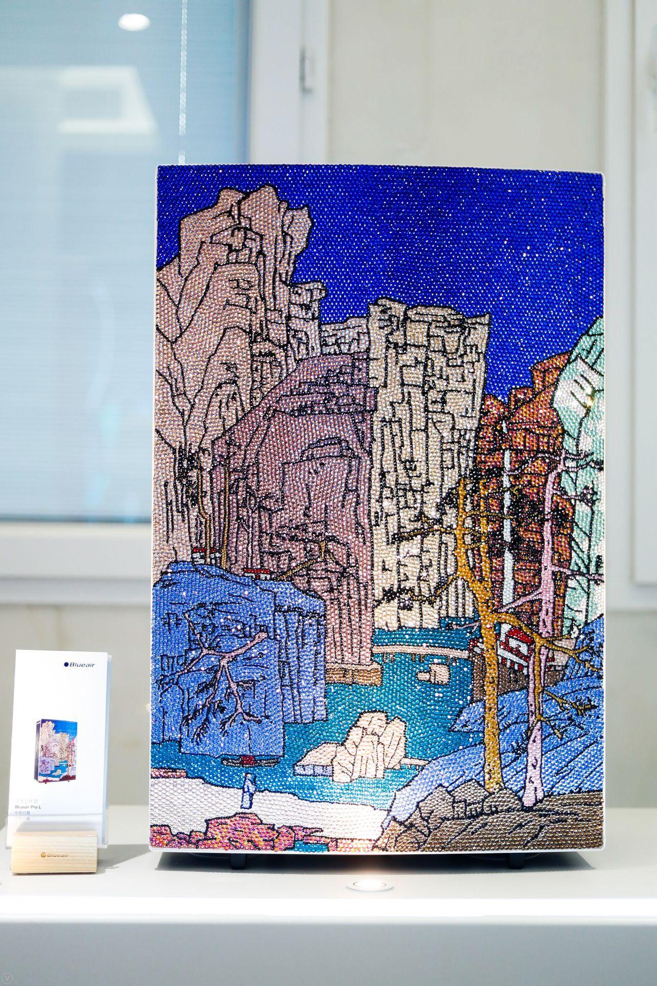 首届北京劝业场JINGART艺术节上blueair PRO L艺术家特别定制款再现风采