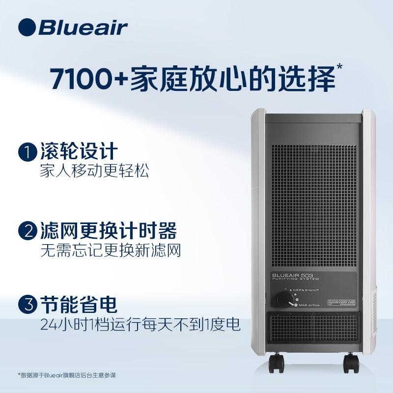 瑞典布鲁雅尔(Blueair)空气净化器 503(超值经典高人气款)